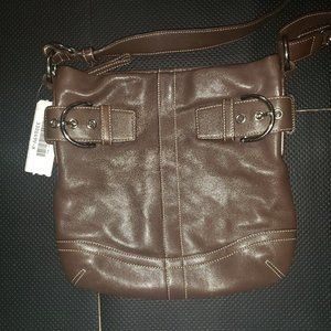 Brown Coach leather purse G05s-1452 - Like new.